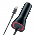 Lightning Rapid QuickCharge Car Charger for Apple iPhone